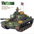 VN024 US M48A3 Patton Tank and Commander - 69th Armored Regt., 25th Infantry Division by First Legion (RETIRED)