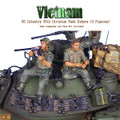 VN025 US 25th Infantry Division Tank Rider - Loading Catridges and Reading Playboy by First Legion