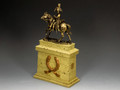 SP088-SA The Mounted Russian Officer on Large Equestrian statue Plinth (Sandstone) (SP079 + SP088) by King and Country