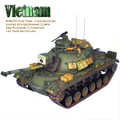 "VN028 US M48A3 Patton Tank and Commander -""Disaster"" 1st Tank Battalion by First Legion"
