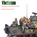 VN029 US Infantry Tank Riders - Loading M-16 and Firing M-14 by First Legion (RETIRED)