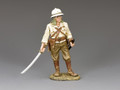 JN027  Standing Japanese Officer with Sword Drawn by King and Country