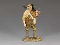 JN034   Standing Machine Gunner by King and Country (RETIRED)