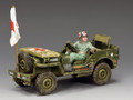 DD293   U.S. Army Medics Jeep by King and Country (RETIRED)