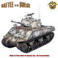 BB001  US 75mm Winter M4 Sherman Tank - 6th Armored Division by First Legion (RETIRED)