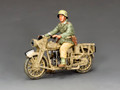AK114 Afrika Korps Motorcycle by King and Country (RETIRED)