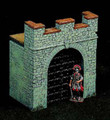 RO40F  Small Gate Tower with Double Gates & Bars by King & Country (Retired)
