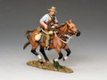 AL074 Mounted Kiwi Charging w/Rifle by King and Country