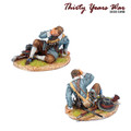 TYW024  Spanish Tercio Musketeer Casualty by First Legion