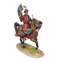 TYW006  Polish Winged Hussar Kettle Drummer by First Legion
