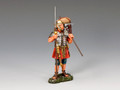 ROM011 Standing Legionary w/Marius Mule by King and Country