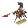 TYW007  Polish Winged Hussar Charging with Lance by First Legion