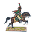 NAP0534  French Imperial Guard Chassuer a' Cheval NCO with 10-20 Years Service by First Legion