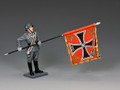 WS341  Waffen SS Flagbearer by King & Country