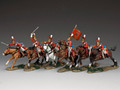 SGS-NA004 Charge of the Life Guards #1 by King and Country RETIRED
