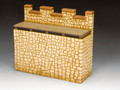 RF003(S) Roman Fort Straight Wall Section (Sandstone) by King and Country