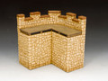 RF004(S) Roman Fort Corner Wall Section (Sandstone) by King and Country