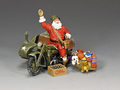 XM017-02 GI Santa On A Motorbike by King and Country (RETIRED)