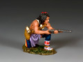 TRW131  Kneeling Plains Indian w/Carbine by King and Country