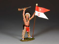 TRW132  War Bonnet w/Guidon by King and Country
