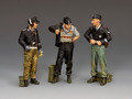 WS347 Dismounted Tank Crew #2 by King & Country
