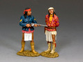 TRW141  Apache Prisoner... &  Apache Guard by King and Country