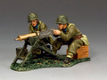 FOB167 MG08 Machine Gun Team by King and Country