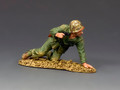 USMC046 Kneeling Marine with Pistol by King and Country