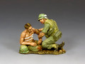 VN009 Corpsman & Wounded Marine by King and Country