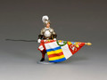 CE025  Swiss Guard Standard Bearer by King and Country