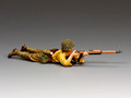 JN057 Lying Prone Rifleman by King and Country