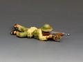 VN020  NVA Lying Firing AK47 by King and Country