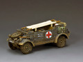 WH088 The Feldgrau Kubelwagen Ambulance by King and Country