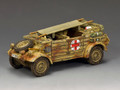 "WH094 The ""The Afrika Korps"" Kubelwagen Ambulance by King and Country"
