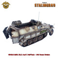 VEH018 Sdkfz 251/1 Ausf C Half-Track - 14th Panzer Division LE100 by First Legion