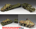 DD318-S04 The Diamond T Tank Transporter Set plus WS197 Sd. Kfz. 234/1 Schwerer Panzerspahwagen by King and Country