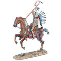 WW019 Mounted Cheyenne Indian Chief by First Legion