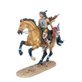 WW020 Mounted Cheyenne Indian with by First Legion