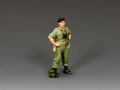 VN063 Standing Armoured Corps Officer by King and Country