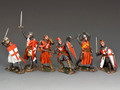MK-S03 Crusader Knights Value-Added Set by King and Country