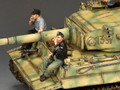 WS354 Relaxing Panzer Crewman by King & Country
