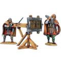 ROM234 Winter Roman Scorpio with 2 Crew Figures by First Legion