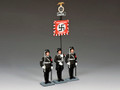 LAH242The Leibstandarte Adolf Hitler Standard Set by King and Country