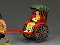 HK290  Chinese Lady Rickshaw Passenger (Gloss/Matt) by King and Country