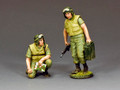 VN073 Dismounted Armoured Crew  by King and Country