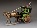 WoD067 The Green Hansom Cab Set by King and Country