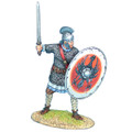 ROM243 Late Roman Legionary with Sword #4 by First Legion