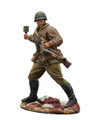 RUSSTAL065 Russian Infantry Throwing Grenade with PPSH41 by First Legion