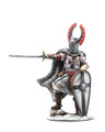 CRU122 Teutonic Knight with Raised Sword by First Legion