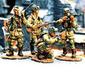 DD001  Four 101st Airborne Troopers in Action by King & Country (Retired)